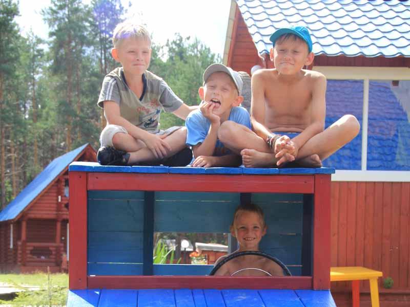 Малиновка - отдых с детьми
